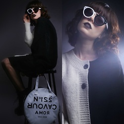 Amy Roiland - 5 Preview Sweater, Chillibeans Sunglasses - Twiggy Twining