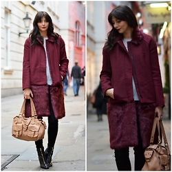 Emma Hill - French Connection Uk Coat - Tis The Season