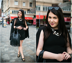 Kinga F - Black Dress - Little Black Dress vol. 3