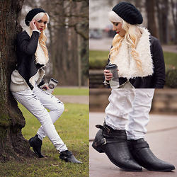 Oksana Orehhova - Yoins Jacket, Yoins Boots - COUNTRY WEEKEND