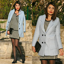 Anna M - Milanoo Coat - The blue coat