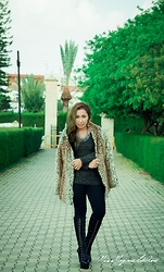 Ojie Papalli - Zara Coat, Boots - Manic Friday
