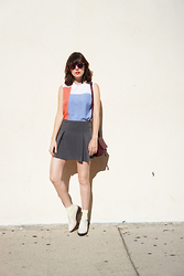 Amy Roiland - Harlyn Label My Outfit, To Be Announced Boots, Chanel Sunglasses - Waiting for a passing feeling