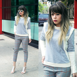 Priscila Diniz - Grey Top - Grey