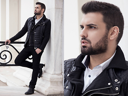 Panagiotis Kelebesis - Zara Vest, Zara Jacket, H&M Shirt, H&M Pant - Keep calm Christmas is coming...