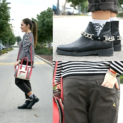 Annalisa Masella (www.insideme.it) - 20.52, Via Mail Bag, Cycle, Zara, H&M - An easy look for a gray Tuesday