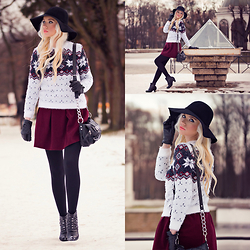 Oksana Orehhova - Dressve Sweater, Dressve Skirt, Beste Shop Hat - HOLIDAY SPIRIT