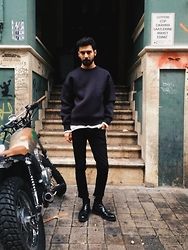 Selim Koroglu - Closed T Shirt, Zara Shirt, Topman Pants, Zara Boots - Unnamed