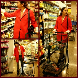 Samantha Cruz -  - Mrs. Claus red coat