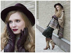 Sandra Saimon - Accessorize Hat, Accessorize Poncho, Accessorize Gloves - 10-day GIVEAWAY. Розыгрыш Frost&Fashion x Accessorize