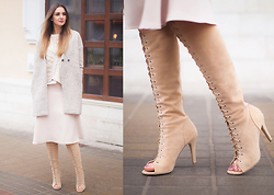 Nika H - Choies Boots - All Nude Everything