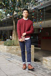David Guison - Perry Ellis Knitted Sweaters - December Delights
