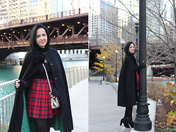 Elisa Cesarini - H&M Skirt, Tod's Bag, Chie Mihara Shoes - Winter in Cicago