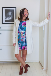 Reut Shechter - Castro Coat, Lashes Of London Dress, Nine West Booties, Asos Crowb - Cinderella