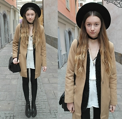 Astrid H - H&M Hat, Pimkie Coat - Already missing