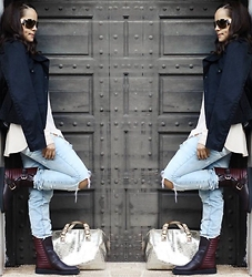 Chiccarpediem blog -  - Le look destroy