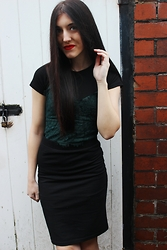 Stacey Joanne Marie Ford - Primark Top, Topshop Dress, Forever 21 Skirt - Christmas Day