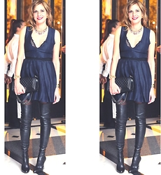 Nina Papaioannou TRENDSURVIVOR - Strategia Over The Knee Boots, Isabel Marant Party Dress - Happy New Year