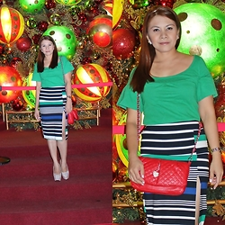 Nancy Drew - Kamiseta Top, Bangkok Skirt, Secosana Shoulder/Sling/Purse Bag - Happy Holiday!