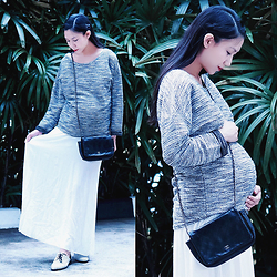 Audrey Tan - H&M Sweater, Chanel Wallet On Chain Bag, Charles And Keith Cutout Oxfords - Hello 2015