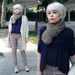 Priscila Diniz - Pants, Sweater, Coat, Scarf - A new beginning!