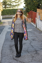 Le Balzi . - Shop Art Parka, Mango Sweaters, Vero Moda Jeans, Bershka Shoes, Gucci Sunglasses - Parka ShopArt