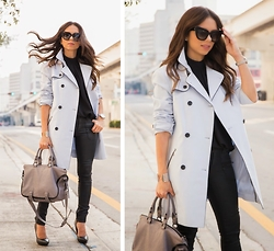 Daniela Ramirez - She+Lo Bag, Shoe Cult Shoes, Valley Eyewear Sunglasses - Time to be...