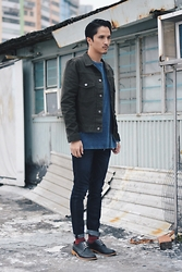 Zenki Chan - 5 Preview Jeans - Rooftop snap
