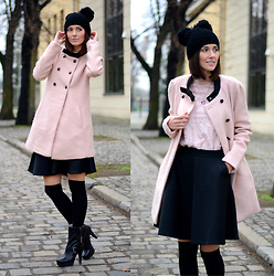 Daisyline . - Nine West Shoes, Vero Moda Coat - Mouse