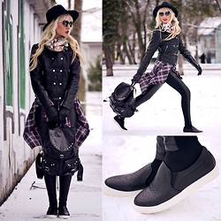 Oksana Orehhova - Yoins Jacket, Yoins Shoes, Oasap Sunglasses - TEEN SPIRIT