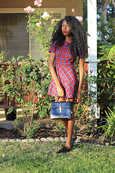 With Love, Banke Folashade - Céline Celine, Forever 21 Oxfords, Forever 21 Dress - 60s Vibes