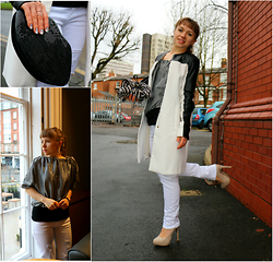 Veronica Kravtsova - Zara Coat, New Look Jeans, Unknown Brand Top, Dorothy Perkins Heels, Lipsy London Clutch - COFFEE AROMA