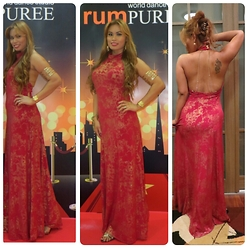 "Kintan T -  - ""The Red Carpet Affair With Red Gown"""