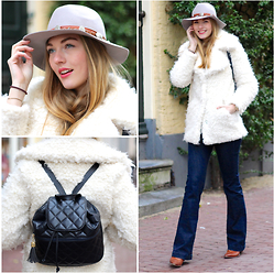 Floortje Van Cooten - Asos Coat, 7 For All Mankind Jeans, Chanel Lipstick - BOHEMIAN IN THE CITY