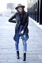 Alex Closet - Iro Jacket - Leather and Jeans