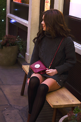 Georgina Walker - Usc Jumper, Mulberry Bag, H&M High Knee Socks, Mac Makeup - JANUARY.