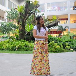 Venus Smileygal - Ai Online Shop Palazzo Pants, Whatever Statement Tshirt - Somewhat Boho Chic