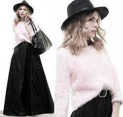 Tini Tani - Oasap Hat, Sheinside Sweater, Be Free Bag - 19/1/15