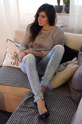 Paulina M - Sinsay Sweater, Reserved Jeans - Sweater