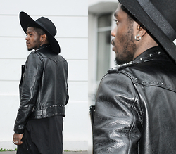 Hugues MSB. - The Kooples Leather Jacket - THE ROCK