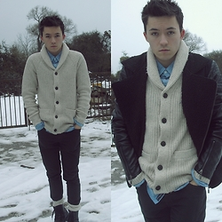 David P - H&M Jacket - SNOW
