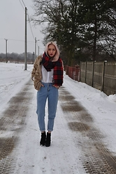 Weronika - H&M, River Island Boots, Vintage, Marie Lund, Zara - Daily winter outfit
