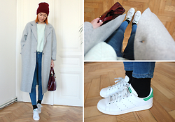 Cosima Hagmann - Adidas Stan Smith Sneakers - Winter is back again ...
