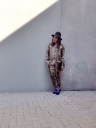 Dong Olmedo - River Island Jumpsuit, Terranova Hat, River Island Shoes - Roaring!