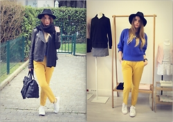 Charly Jay - Pink Stan Smith, H&M Alexander Wang X - Blue & Yellow