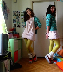 ERYK ~ - Unknow That Cardigan, None That Dress, Yru Those Shoes - Cherry dot.