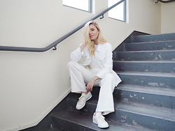 Isabella Thordsen - Adidas, Asos - All white everything