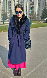 Ajla Seperovic -  - Oversized Coat