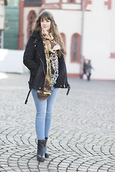Andrea Funk / andysparkles.de - Forever 21 Jacket, Clarks Boots - A Week Full of Denim