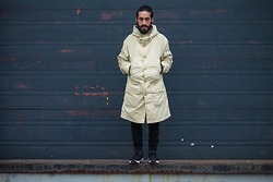 Kas - Asos Creator Parka, Levi's® 511 Slim Straight Jeans, Nike Footscape Desert Chukka - Pay close attention''